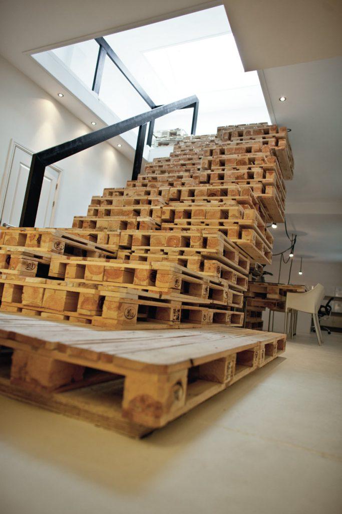 Reciclar palés de madera