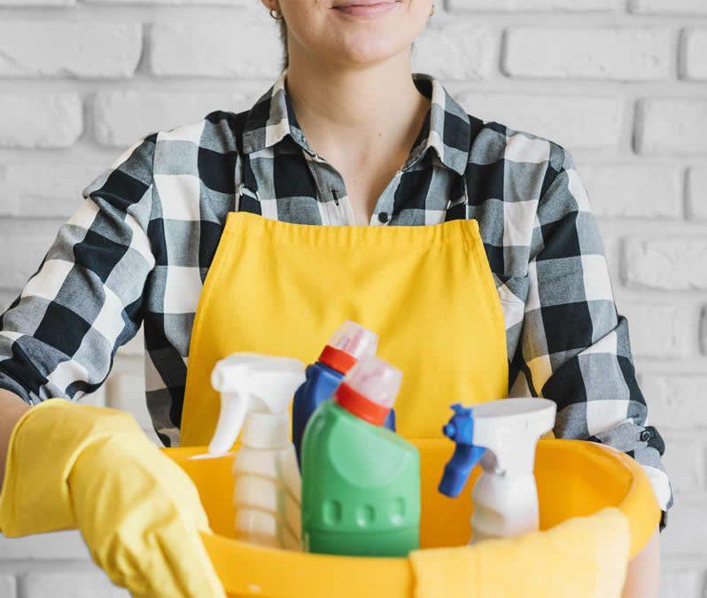 Los productos básicos y necesarios para la limpieza del hogar